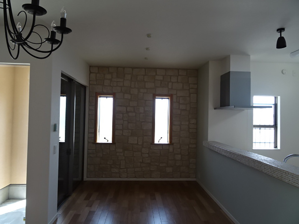 壁面棚の再利用 Before