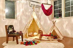 未来の家族の笑顔を想像させる 子供部屋 After